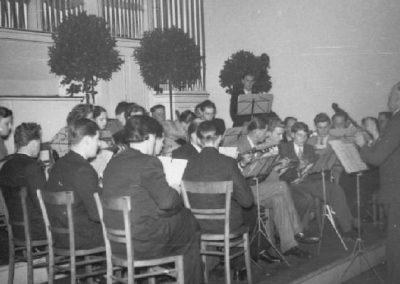 November 1953 Konzertauftritt im damals grössten Saal Kaiserslauterns