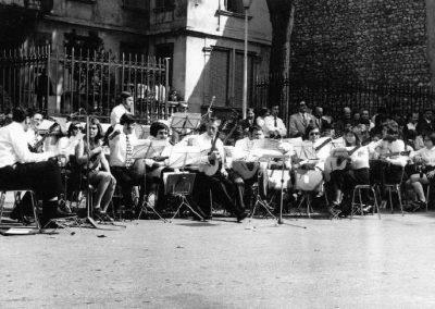 03.09.1972 Konzert auf dem Rathausplatz von Saint Peray