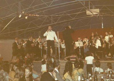 03.09.1972 Konzert im Festzelt von Saint Peray mit dem Bariton Karl Ohl