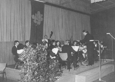 Herbst 1974 Konzert anlässlich des 20jahrigen Jubilaums des OWK Sandbach Mumlingtalhalle