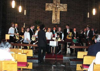 2001 Konzert in der Kath Kirche Wiebelsbach