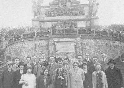 1927 Ausflug an das Niederwalddenkmal