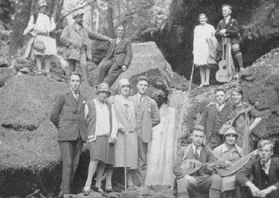 1928 Ausflug in die Wolfsschlucht