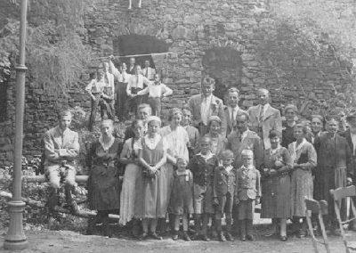 1933 Ausflug nach Lindenfels