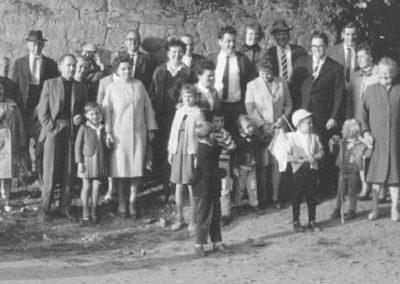 Ende 1964 Breuberg Wanderung