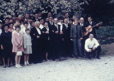 16.05.1965 Die Falkensteinfahrer mit den Pokalen