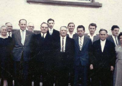 02 Ein Teil des Vorstandes am 08.11.1959