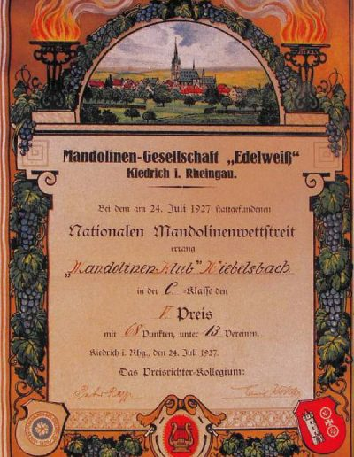 Juli 1927 Kiedrich