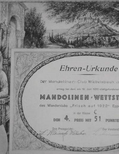 1932 Eppertshausen Mandolinenwettstreit