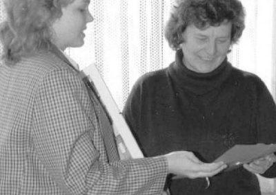 10 Abschied von Frau Inge Ross 1994