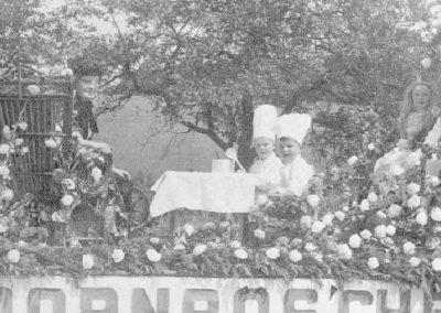 Festzug anlässlich des 40jährigen Jubiläums des MCWs am 07.07.1967 - Märchenwagen des MCW