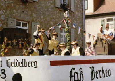Winzerfestumzug 1971