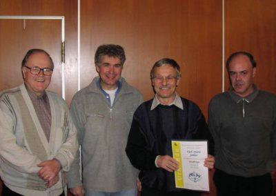 14 Die geehrten Mitglieder 2004