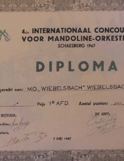Mai 1967 Niederlande