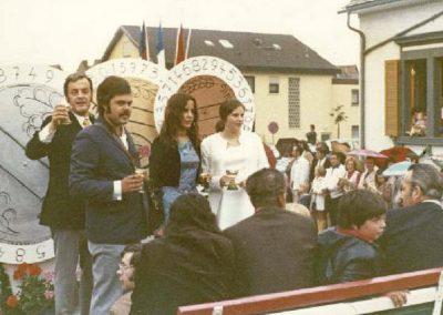 Winzerfestumzug 1973