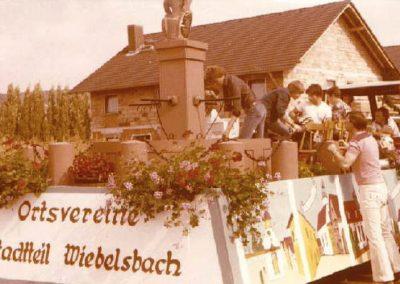 Winzerfestumzug 1978
