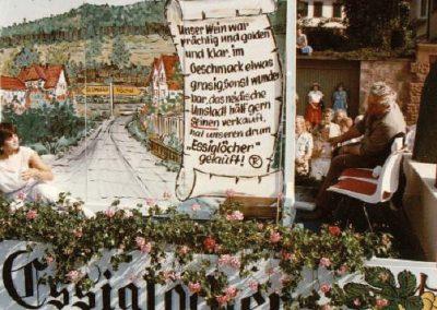 Winzerfestumzug 1985