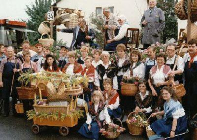 Winzerfestumzug 1991