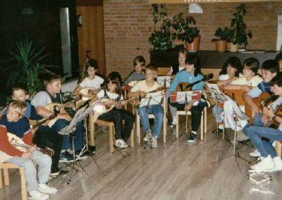 Das Neue Jugendorchester auf Seminar in Wetzlar Okt 1985