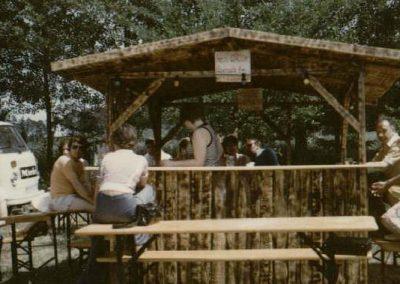 Grillfest in der Pfingstweide am 12. und 13.06.1976