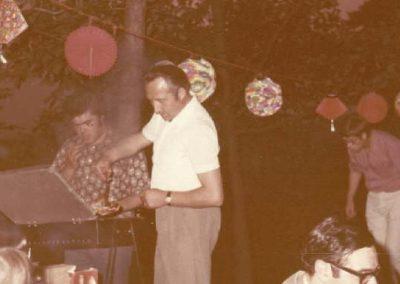 Grillparty des MCW am 08.07.1972
