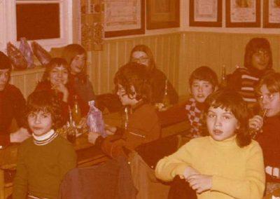 Jahresabschluss der MCW Jugend 1974