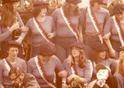 Kerbmädels des MCWs 1978