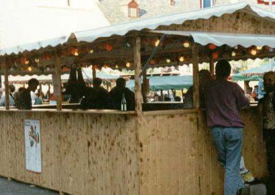 Neue Weinlaube auf dem Winzerfest 1995