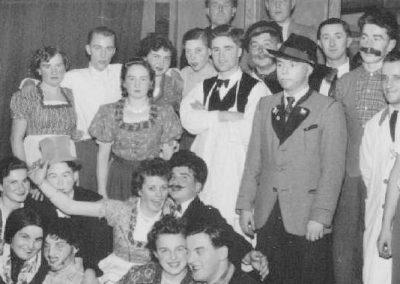 Operettenabend des MCW am 16.01.1955