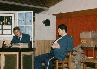 Theaterstück beim Familienabend am 04.11.1989