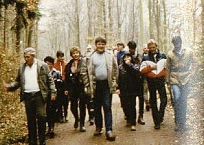 1983 Wanderung zwischen den Jahren nach Mummenroth